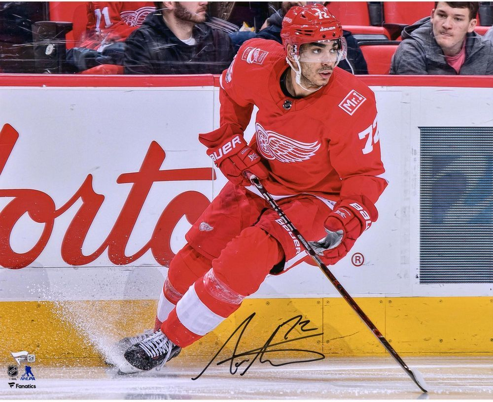 Andreas Athanasiou Detroit Red Wings Signed 16