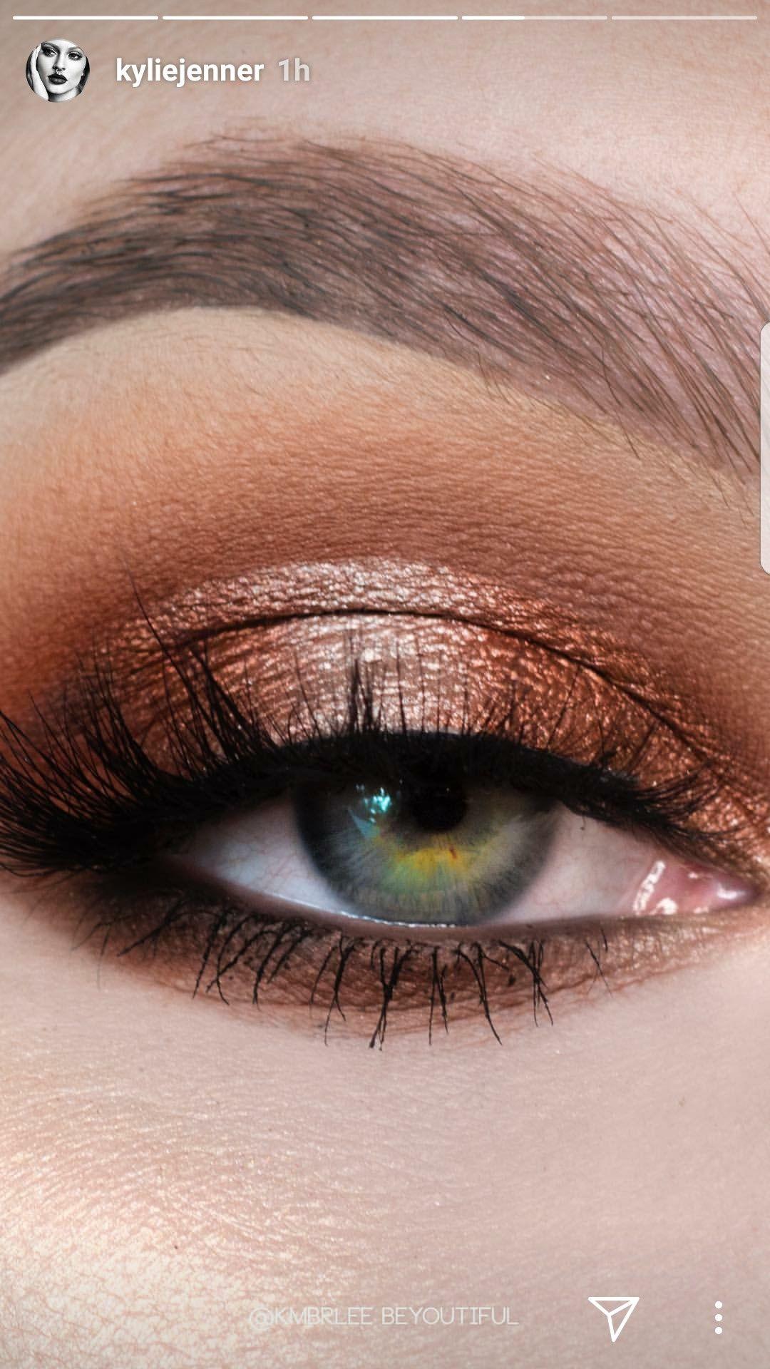 Blue Honey Palette by #KylieJenner #makeup   Beautiful eye ...