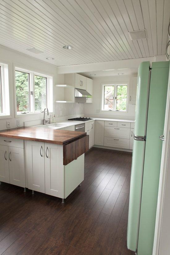 The Kitchen Is Finished Small Kitchen Kitchen Layout Kitchen Design