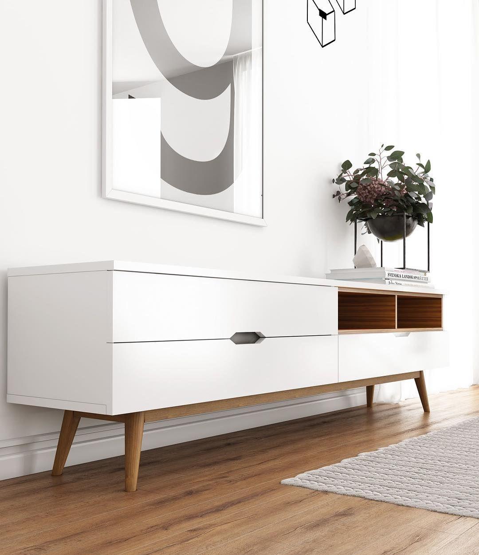 nueva coleccin de mesas de tv cmodas bibliotecas y modulares de diseo escandinavo