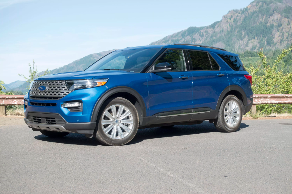 2020 Ford Explorer Hybrid Sips Its Way To Epa Estimated 28 Mpg Combined Ford Explorer Hybrid 2020 Ford Explorer Ford Explorer