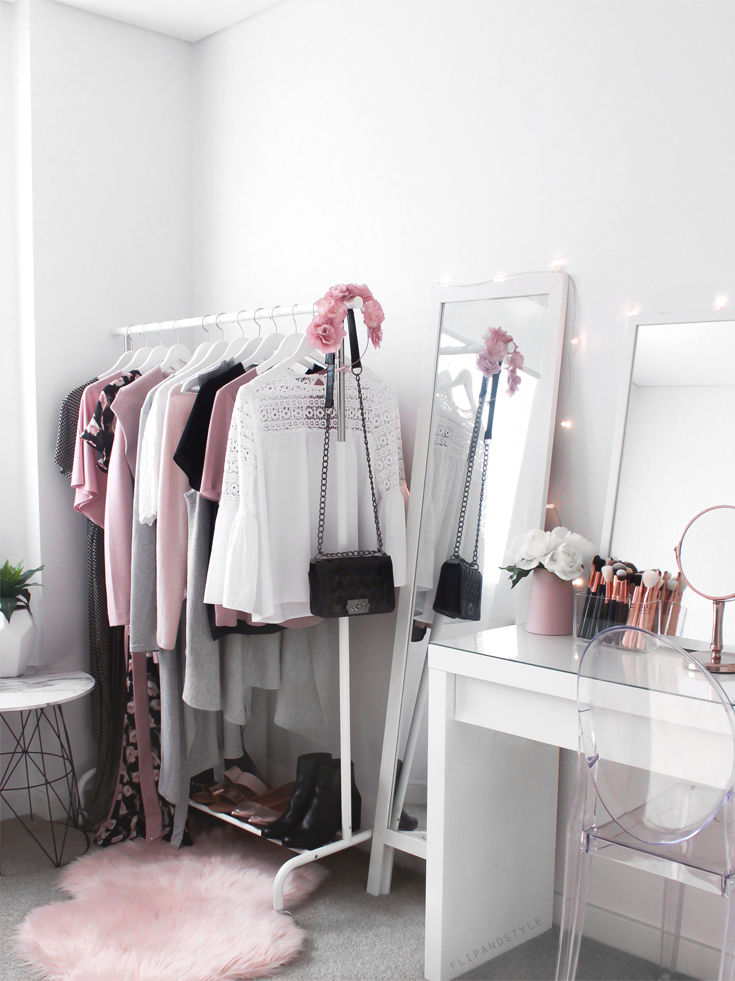 Wardrobe ♡ Beauty Room Makeup Vanity With Ikea Malm