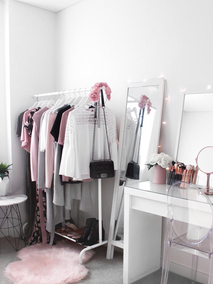 Wardrobe ♡ Beauty Room Makeup Vanity With Ikea Malm