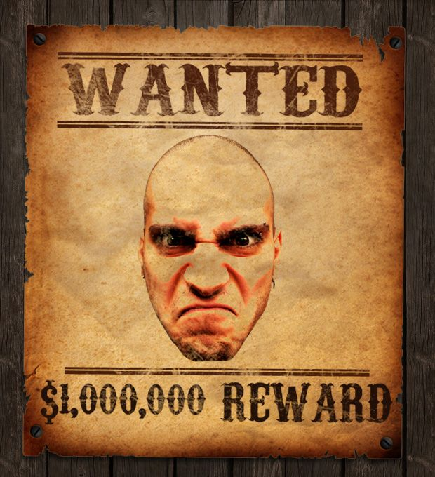 How to Make an Old Western Wanted Poster in Photoshop   craft ideas ...