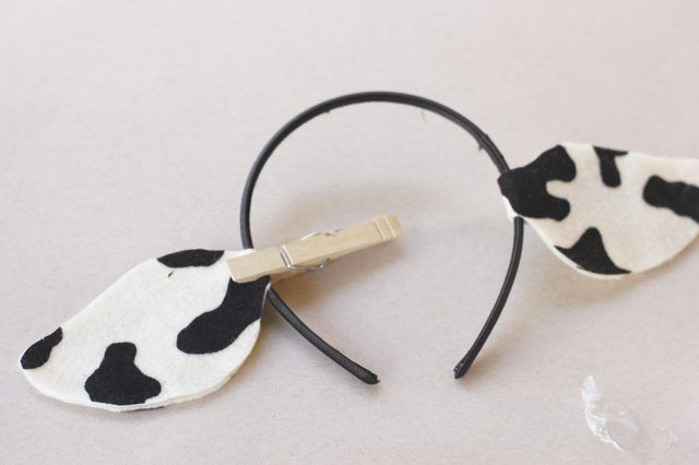 photograph relating to Printable Cow Ears named How in the direction of Create Cow Ears Halloween costumes Cow ears