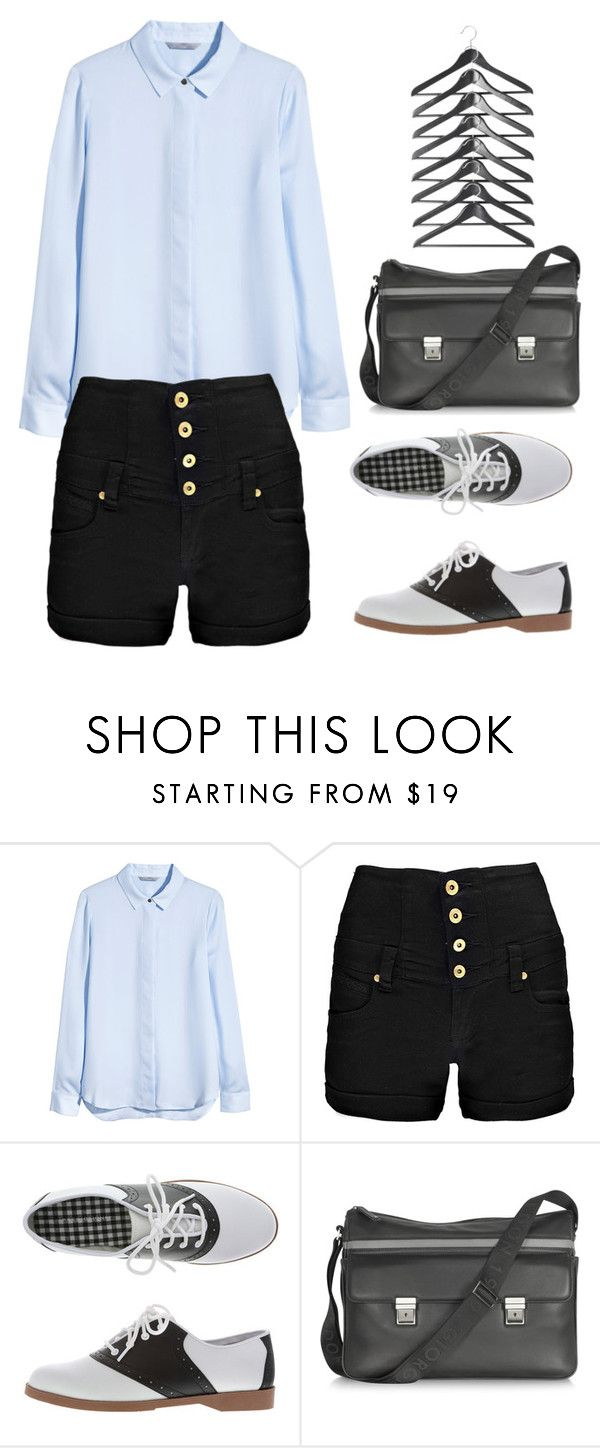 """""""Untitled #237"""" by lbenigni ❤ liked on Polyvore featuring H&M, Boohoo, Giorgio Fedon 1919, StreetStyle and NYFW"""