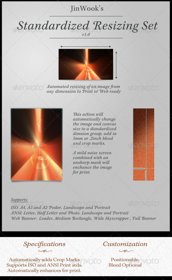 JinWook's Standardized Resizing Set #GraphicRiver This