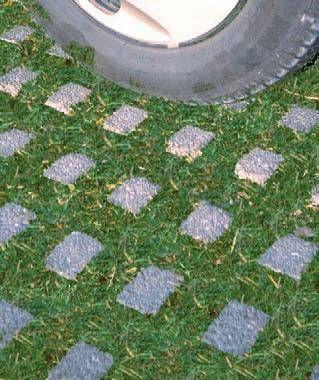 Dalle Gazon Element Destine A Realiser Des Voies De Circulation Leur Utilisation Est Particulierement Conseillee Lorsque L Dalle Jardin Gazon Parking Voiture