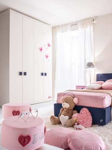 Composiciones para cuarto de ni a barbie like muebles de for Muebles dormitorio nina