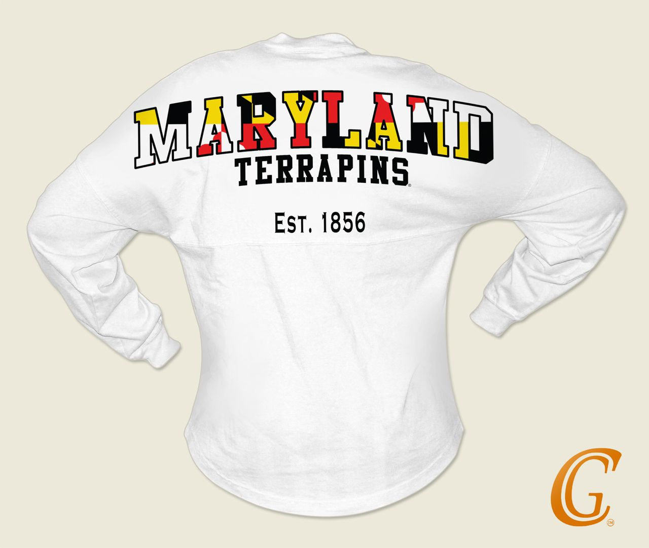 Big W School Shirts University Of Maryland Terrapins Spirit Football Jersey W Md