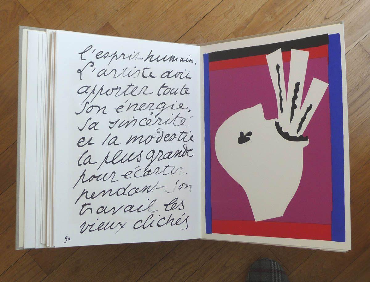 Le Livre D Artiste Un Objet D Art Livre D Artiste Henri Matisse Artiste