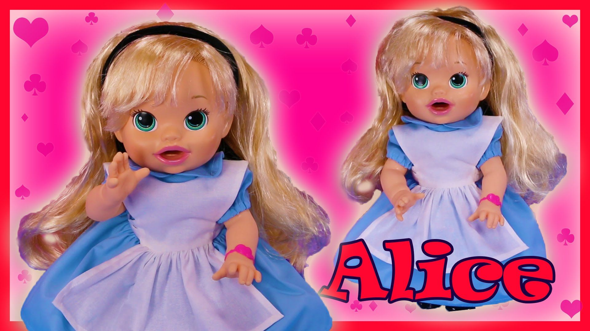 Alice In Wonderland Custom Baby Alive Doll Eats Play Doh Poops Surprises Baby Alive Dolls Baby Alive Custom Baby