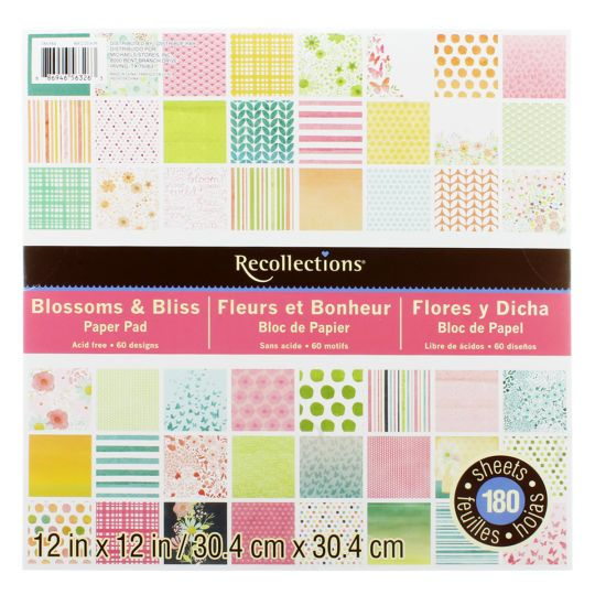 Recollections blossom bliss paper pad reg 1999 bliss craft recollections blossom bliss paper pad reg 1999 pronofoot35fo Gallery
