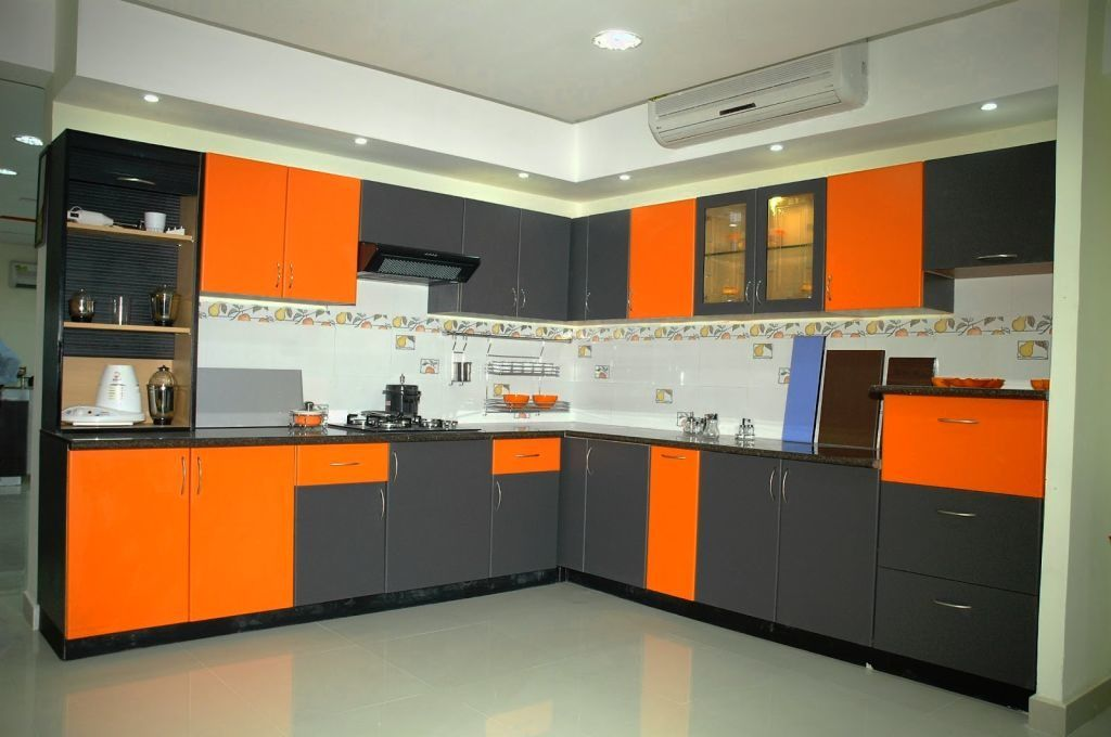 Simple Indian Modular Kitchen Designs Grey Kitchen Designs