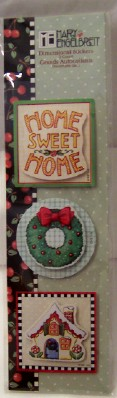 Mary Engelbreit Christmas Dimensiomal Stickers #3 New Fr
