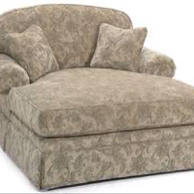 Oversized chair looks cozy
