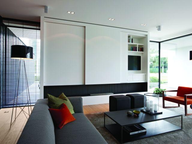 Woonkamer • modern • spots • parket • interieur • Foto: www.dumobil ...