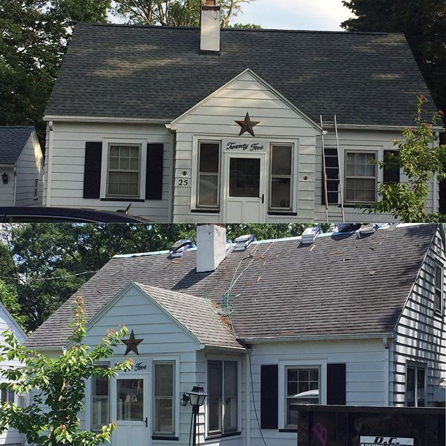 Another Great Job By The Guys Installing This New Gaf