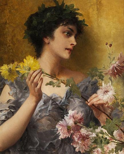 Tribut an die Blumen Conrad Kiesel
