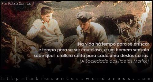 Frase Do Filme Sociedade Dos Poetas Mortos Frases Em Português I