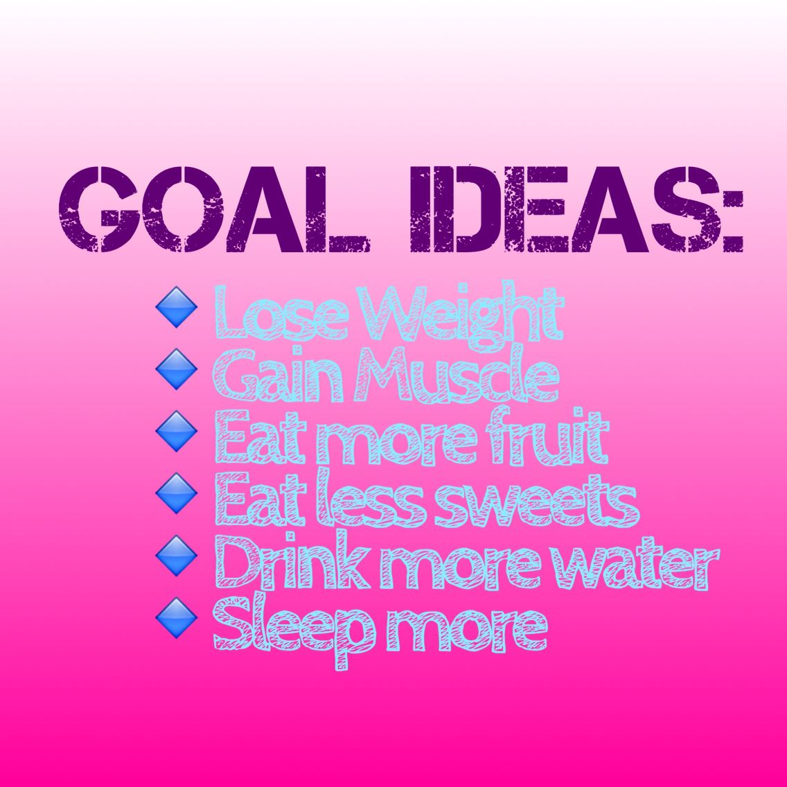 fitness goal ideas | new years new me | pinterest | fitness goals