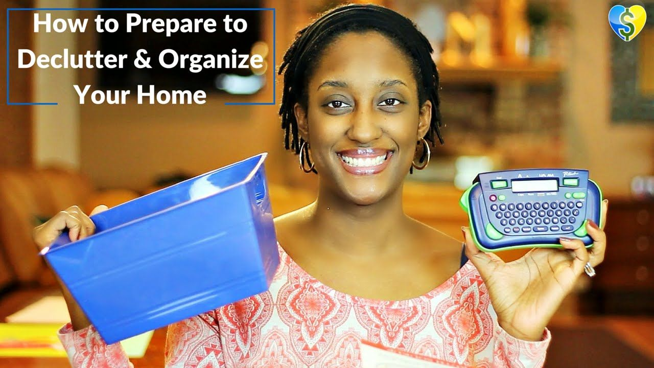 How to Prepare to Declutter & Organize Your Home (31 Days to a Clutter F...
