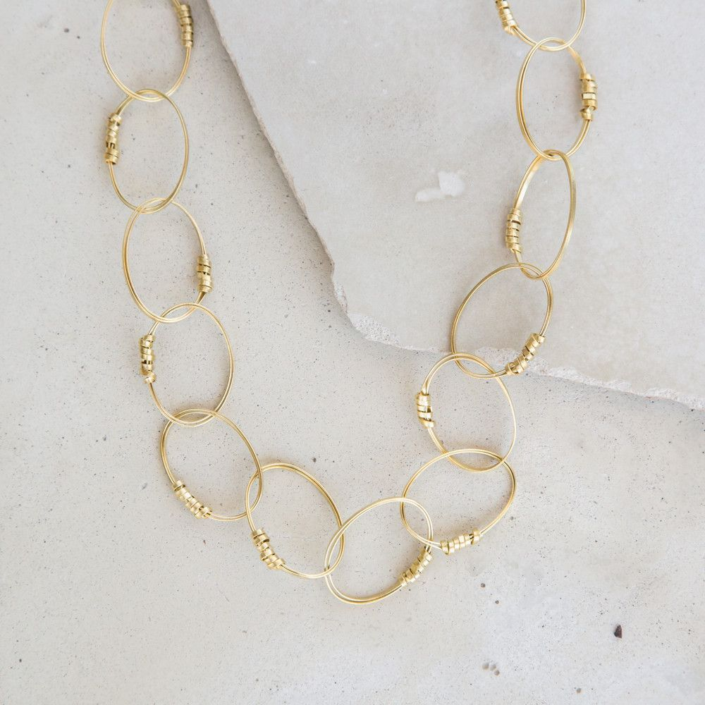 Sophie Brass Necklace