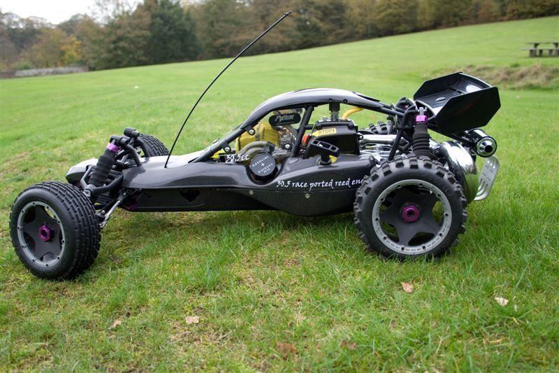 HPI Baja 5B 1/5 RC Buggy with tuned exhaust | Car Customs