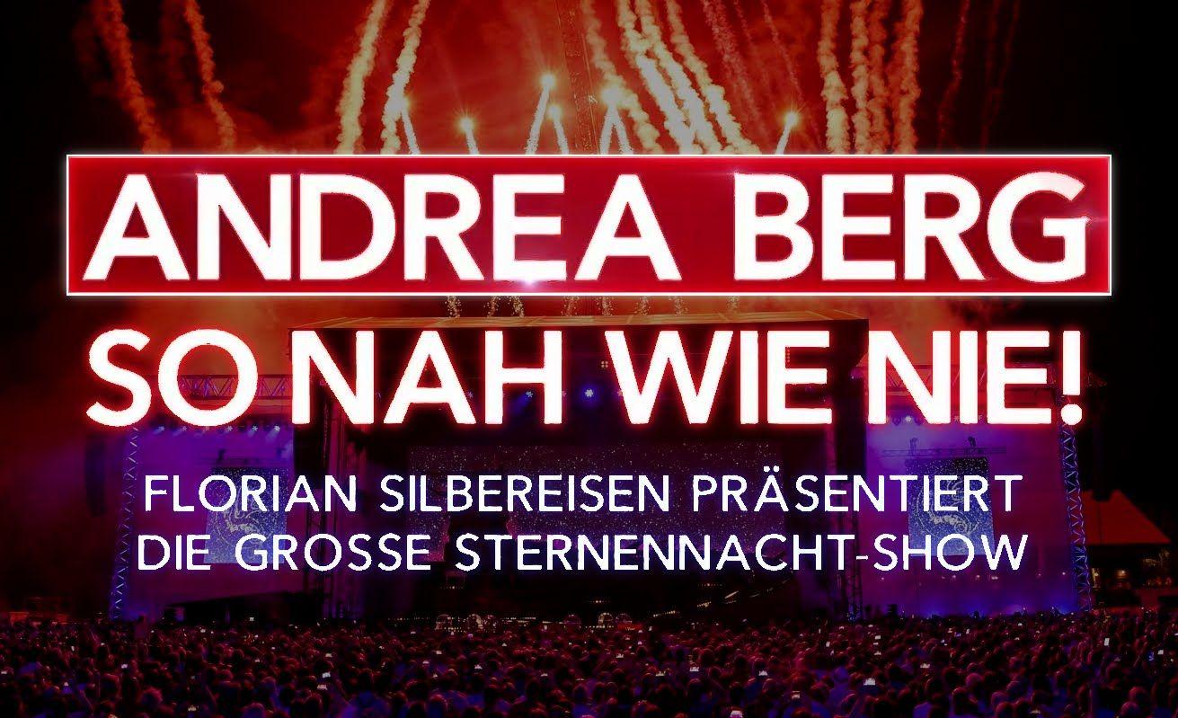 Andrea Berg So Nah Wie Nie Die Grosse Sternennacht Show 2016