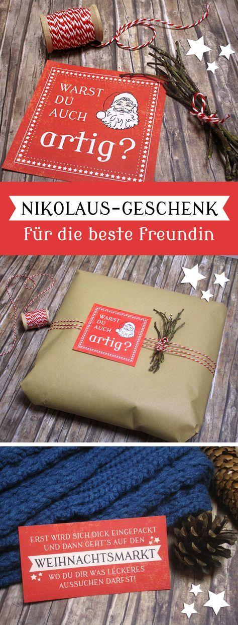 Geschenkidee für die beste Freundin zum Nikolaus