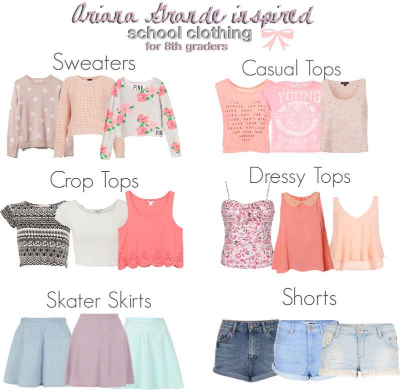 Ariana Grande inspired school essentials for 8th graders ...