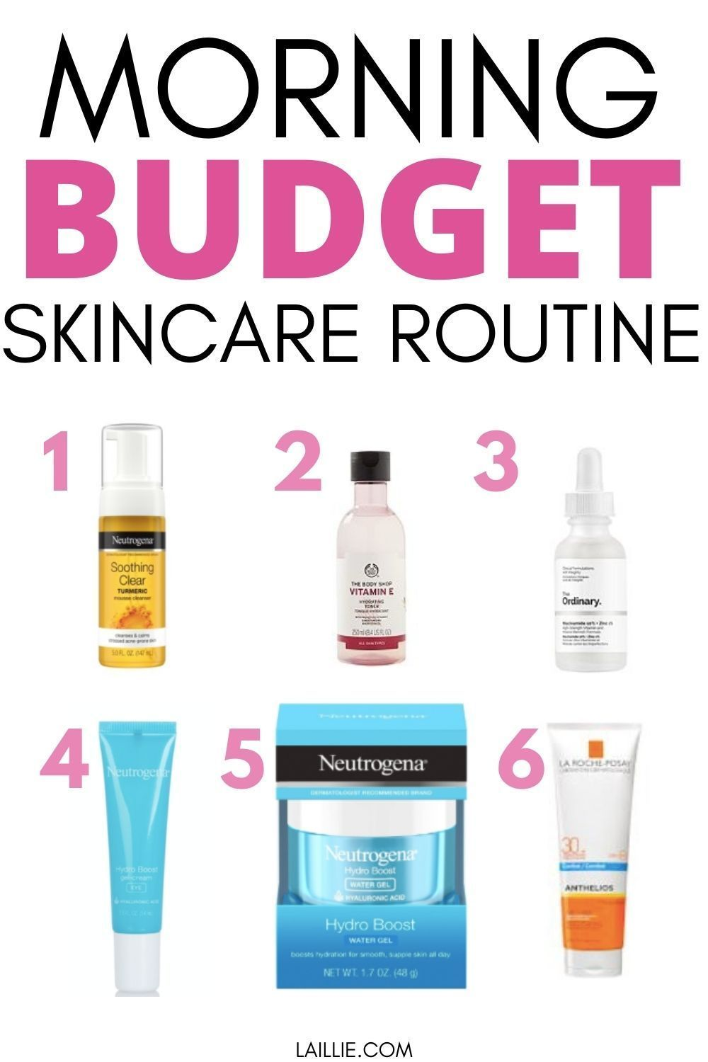 The Best Budget Skincare Routine Glowing Skin On A Budget In 2020