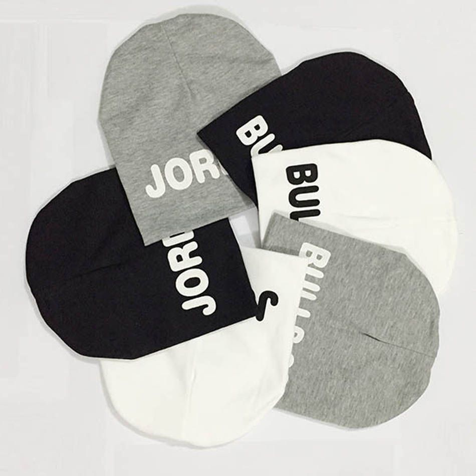 Fashion kids hats 2015 JORDAN BULLS 23 print boys girls hat cotton warm  knitting skullies beanies winter hats for toddler baby 170a4177824