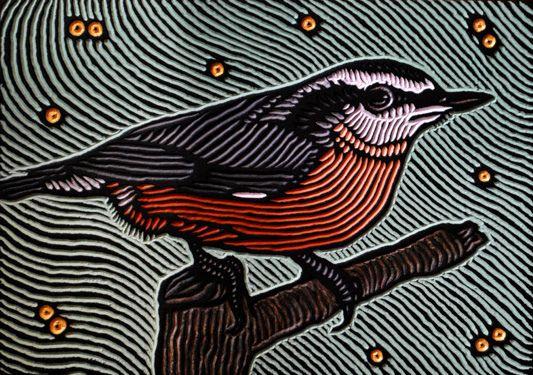 Lisa Brawn Woodcuts