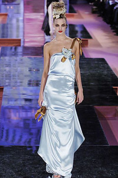 See the complete Christian Lacroix Spring 2005 Couture collection.
