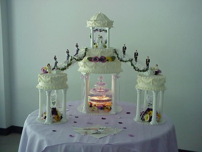 Fountain Bridge Cake Wedding Cakes Pinterest Cake Wedding