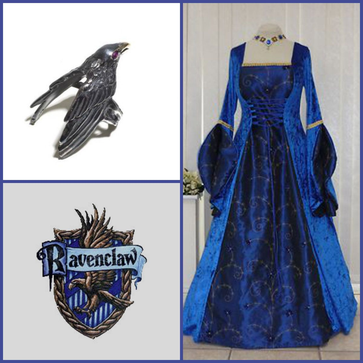A Medieval Take On The Hogwarts Houses Ravenclaw Harry Potter
