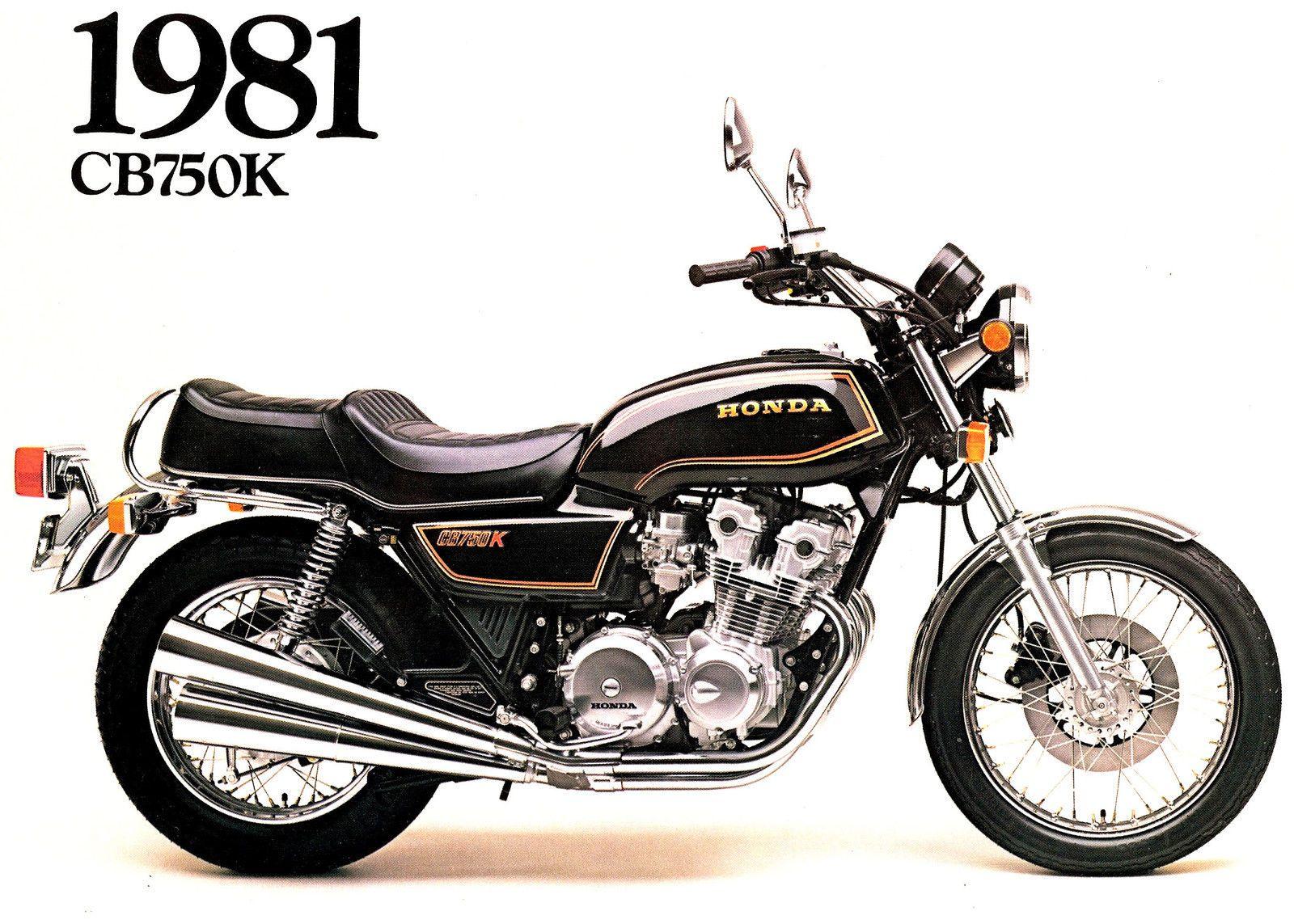 Honda Cb750k 1981 Ad Honda Cb750 Vintage Honda Motorcycles Motorcycle [ 1143 x 1600 Pixel ]