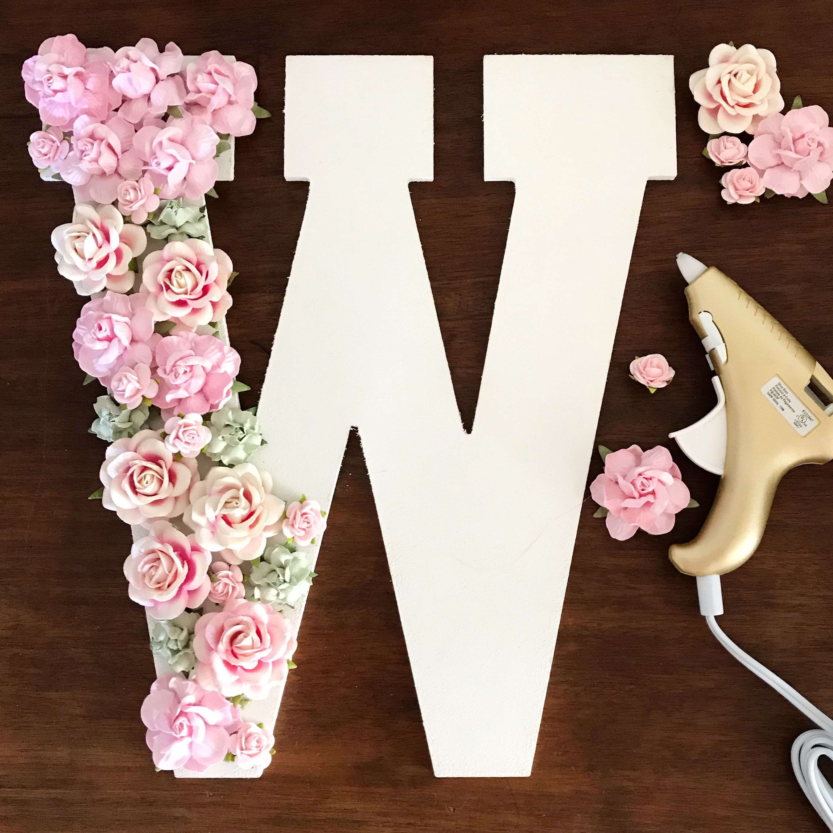 "KVW Paper Flowers 2""   Set of 10"