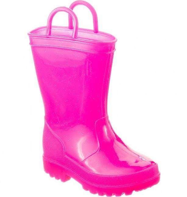 girls size 4 rain boots