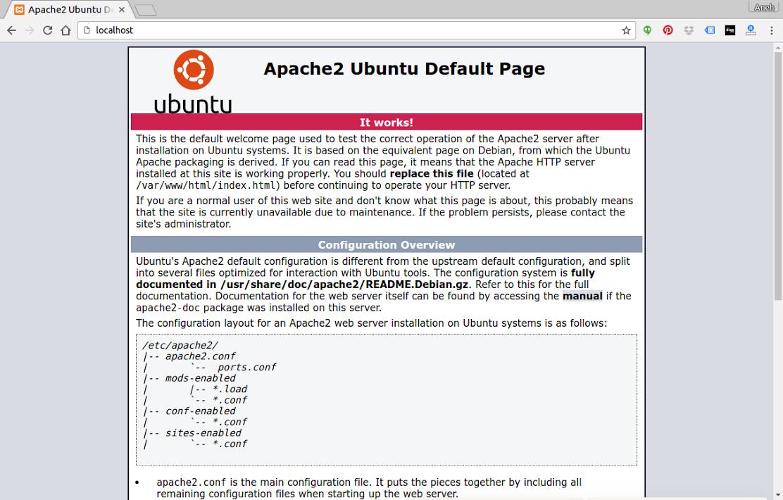 Install Apache Php Mysql And Phpmyadmin On Ubuntu Mysql Apache Installation