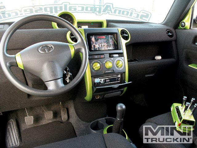 2005 scion xb interior. this monthu0027s hometown heroes section features randy westu0027s custom 2004 scion xb complete with a four link modified suspension and randode green metallic 2005 xb interior