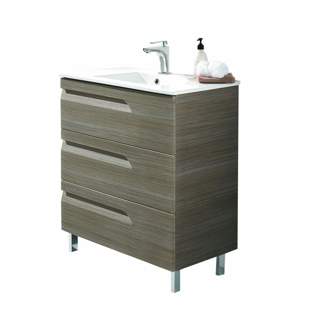 Eviva Vitta 24 Inch Ash Modern Bathroom Vanity Is A Unique Made In