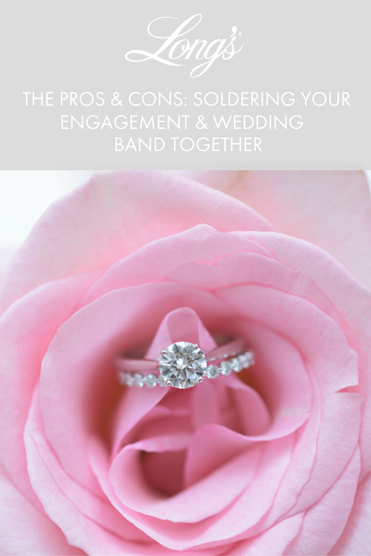 The Pros Cons Soldering Your Engagement Ring Wedding Band