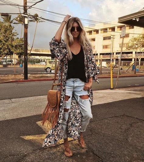Los KIMONOS son los nuevos blazers de verano (y se llevan así)