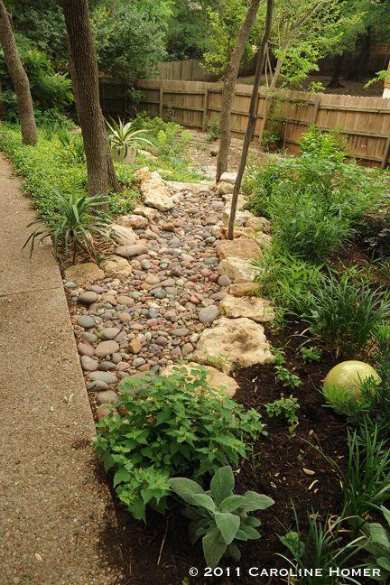 Garden beds surround a greenbelt runoff | caroline_says | Flickr