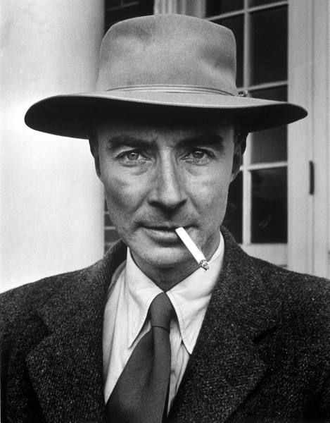 "J. Robert Oppenheimer American Physicist - 1947 - so-called ""Father of the Atomic Bomb"""