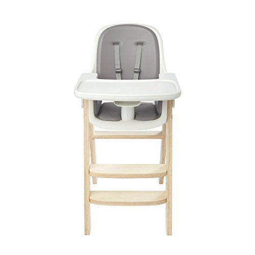 high chair amazon best ergonomic reclining office com oxo tot sprout gray white baby clothes
