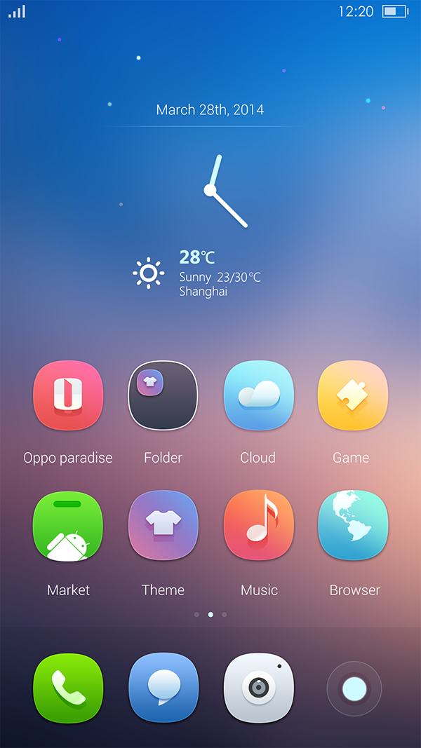 Starry Night on Behance Launcher icon, Mobile app icon