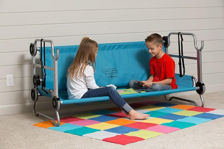 Kid O Bunk Portable Bunk Beds For Camping Also Converts Into A